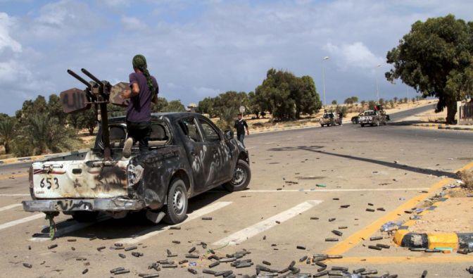 Straßenkämpfe in Sirte (Foto)