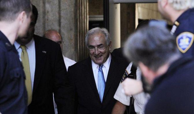 Strauss-Kahn aus Arrest entlassen (Foto)