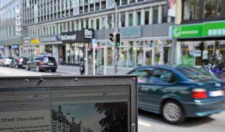 Street-View-Formular teilweise nicht erreichbar (Foto)