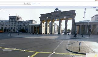 Street View: So funktioniert die virtuelle Navigation (Foto)