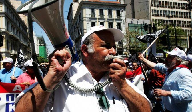 Streik der Lehrer (Foto)