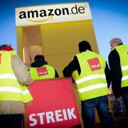 Streiken die Amazon-Mitarbeiter im Weihnachtsgeschäft? (Foto)
