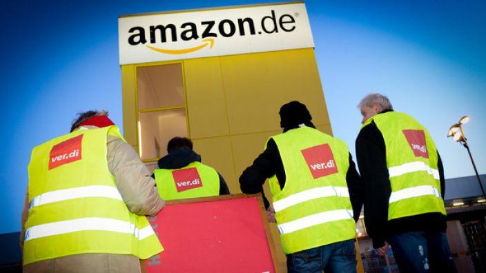 Streiken die Amazon-Mitarbeiter im Weihnachtsgeschäft?