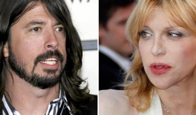Streit zwischen Courtney Love und David Grohl (Foto)