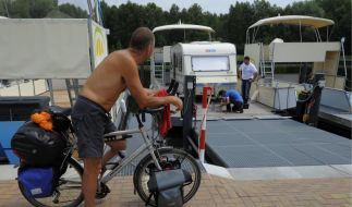 Streitfall Radfahrer (Foto)
