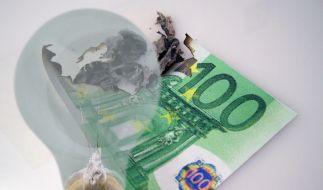 Strom sparen wird teurer (Foto)