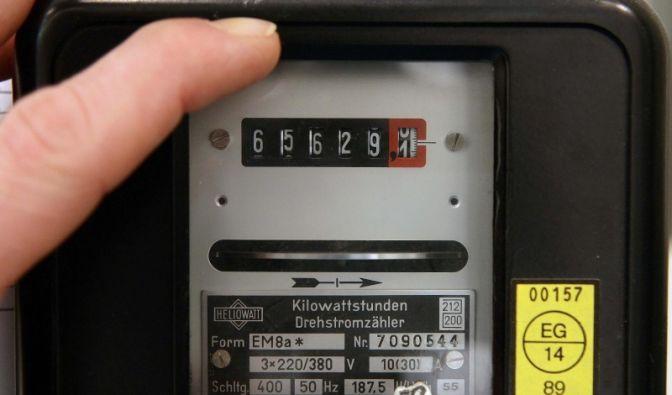 Stromzähler (Foto)