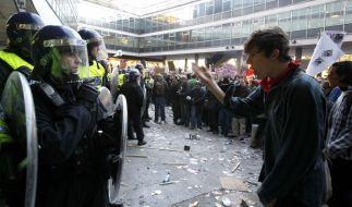 Studenten-Aufstand (Foto)