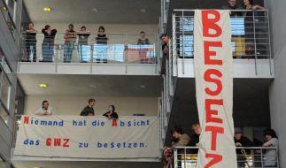 Studentenproteste Leipzig (Foto)