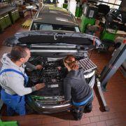 Studie: Jede elfte Autowerkstatt könnte dicht machen (Foto)