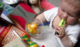Studium mit Kind: Frühzeitig Betreuungsplatz suchen (Foto)