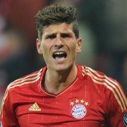 Stürmer Mario Gomez wird den Bayern vorerst fehlen.