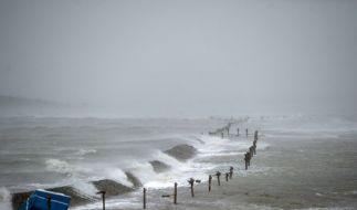 Stürmische Tage kommen auf die Küstenbewohner zu. (Foto)