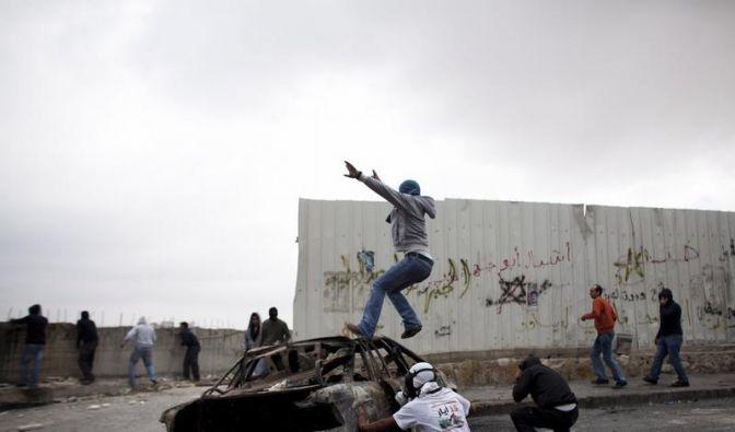 Sturm auf Israels Grenzen (Foto)