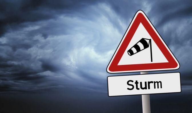 """Sturmtief """"Marita"""" sorgt am Wochenende für extrem windiges Wetter. (Foto)"""