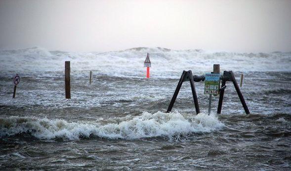 """Sturmtief """"Sebastian"""" sorgte im September für trübes Wetter. (Foto)"""