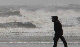 Sturmtief «Ulli»: Viel Wind, wenig Schaden (Foto)