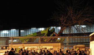 Stuttgart 21: Sitzblockaden gegen Baumverpflanzung (Foto)