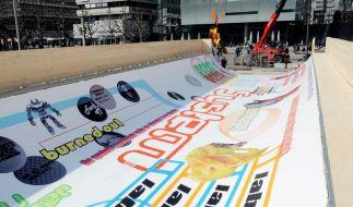 Stuttgarter Skater dürfen sich auf Kunstwerk tummeln (Foto)