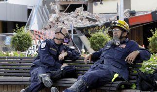 Suche nach Erdbebenüberlebenden offiziell beendet (Foto)