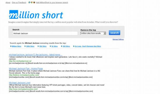 Suchmaschine für Unpopuläres (Foto)