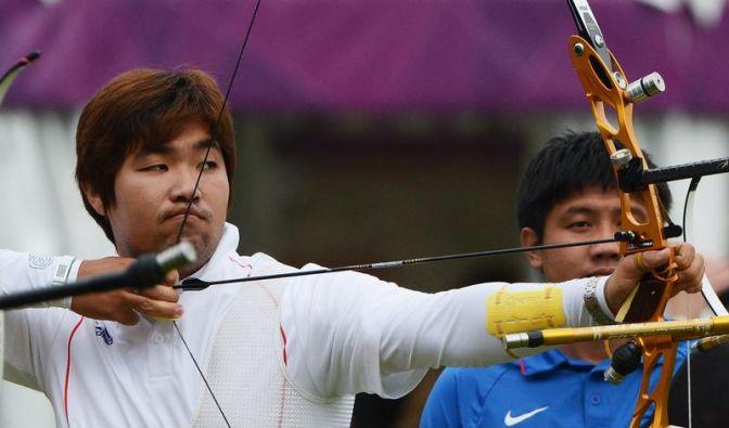Südkoreanischer Bogenschütze Im mit Weltrekord (Foto)