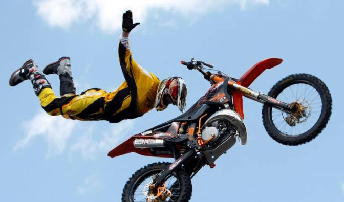 Supercross Freestyle (Foto)