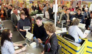 Supermarktkasse (Foto)