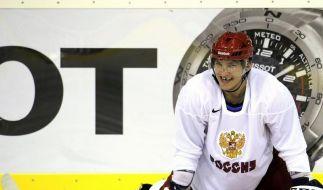 Superstar Owetschkin bei Eishockey-WM eingetroffen (Foto)