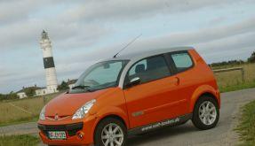 SUV contra Stromer (Foto)