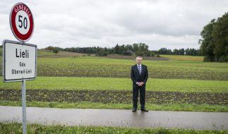 SVP-Politiker Andreas Glarner kaufte seine Gemeinde von Flüchtlingen frei. (Foto)