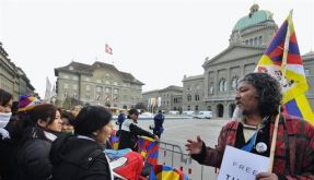 SWITZERLAND CHINA WEN JIABAO VISIT (Foto)