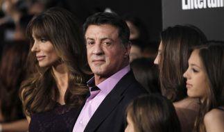 Sylvester Stallone trauert um seinen Sohn Sage. (Foto)