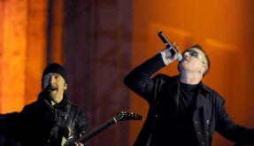 Symbolträchtig: U2 spielen am Brandenburger Tor (Foto)