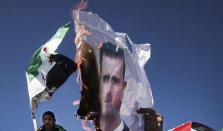 Syrien: Mindestens 90 Demonstranten getötet (Foto)