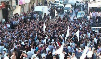 Syriens Opposition rückt zusammen (Foto)