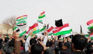 Syriens Opposition ruft nach Militärintervention (Foto)