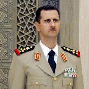 Syriens Präsident Assad. Sein Regime scheint am Ende.