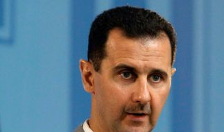 Syriens Präsident Baschar al-Assad erklärte vor dem neu gewählten Parlament, dass er weiterhin mit unveränderter Härte gegen die Protestbewegung im eigenen Land vorgehen würde. (Foto)