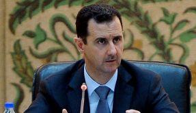 Syriens Präsident Baschar al-Assad sieht sein Land im Kriegszustand. (Foto)