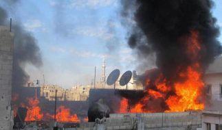 Syriens Regime rückt von vereinbarter Waffenruhe ab (Foto)
