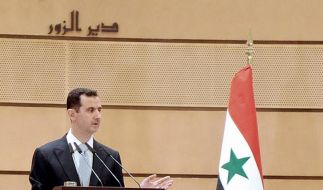 Syriens Regime wittert Verschwörung (Foto)