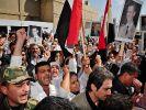 Syrische Armee rückt in Grenzstadt Tel Kalach ein (Foto)