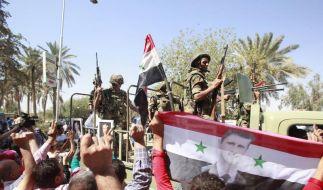 Syrische Opposition bildet Nationalrat gegen Assad (Foto)