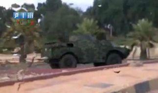 Syrische Truppen rücken in Latakia ein (Foto)