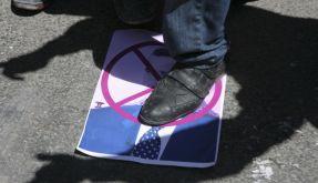 Syrischer Demonstrant (Foto)