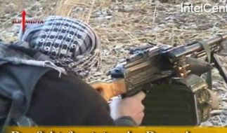 Szene aus einem Propagandavideo (Foto)