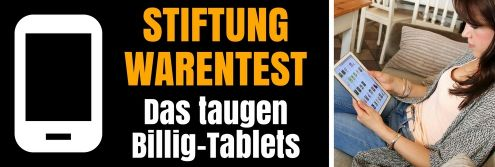 Stiftung Warentest mit Tablet-Test 2016