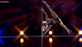 Tänzerin Sammy hebelte die Gesetze der Schwerkraft einfach aus. (Foto)