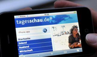 «Tagesschau»-App: Politiker wollen Mediengipfel (Foto)